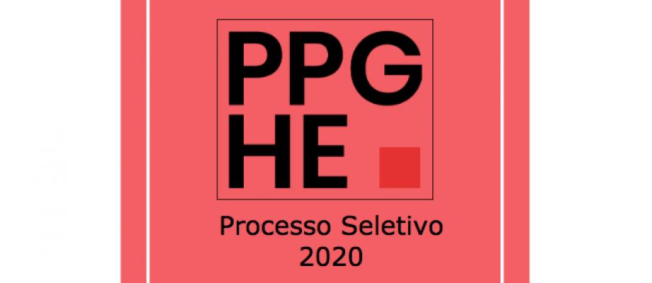 Processo Seletivo - História Econômica - 2020