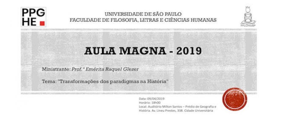 Aula Magna - 2019